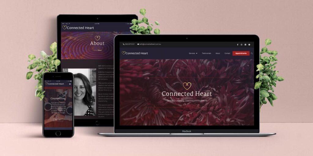 Connected Heart hjemmesiden af Lee Leplaw Deichmann