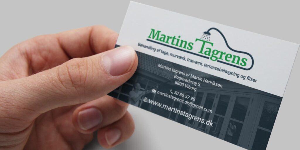 case martins tagrens visitkort design lee leplaw deichmann